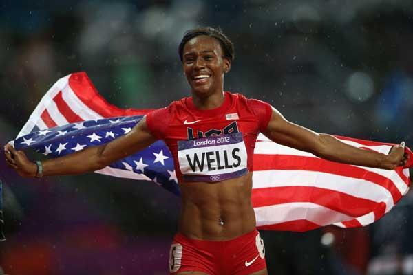 Kellie Wells (Getty Images)