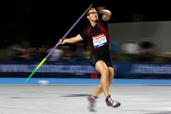 Another win Down Under for New Zealand's Stuart Farquhar in the Javelin (Getty Images)
