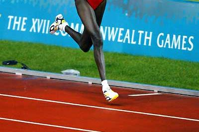 Salina Kosgei takes emphatic 10,000m win at 2002 Commonwealth Games (AFP / Getty Images)