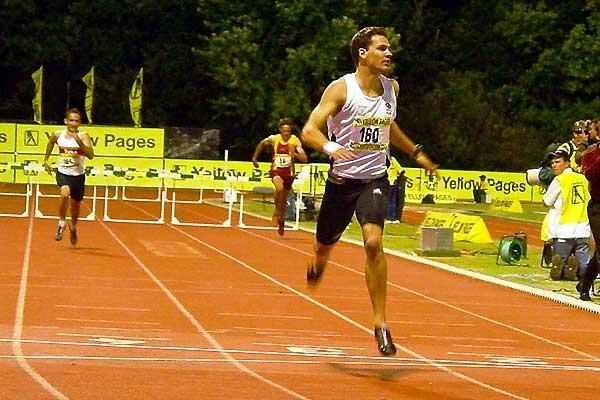 Ockert Cilliers runs 49.69 secs in Yellow Pages Series meeting in Potchefstroom (Mark Ouma)