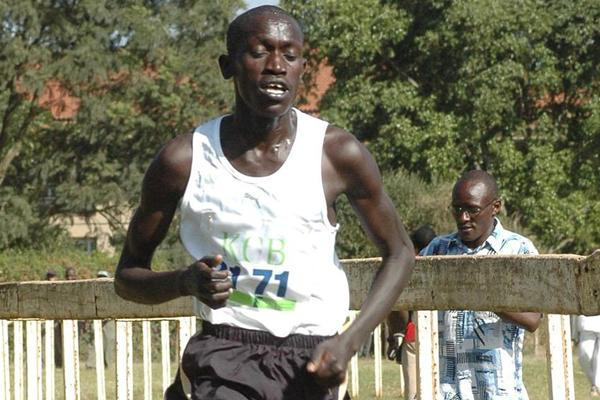 John Kemboi, winner of the 2009 Kenyan World champs trials in Nairobi (Elias Makori)