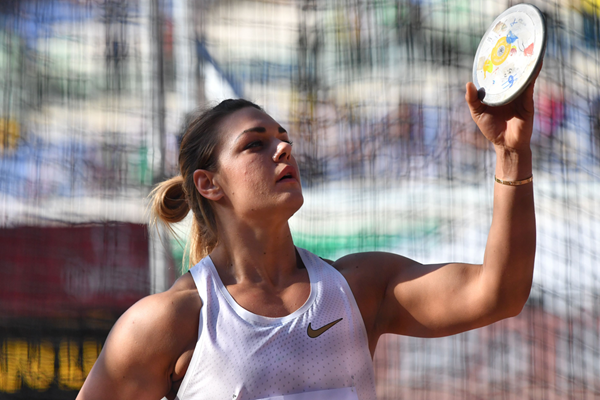 Croatian discus thrower Sandra Perkovic (AFP / Getty Images)