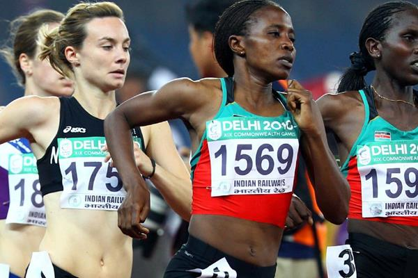 Kenyan middle-distance runner Irene Jelagat (Getty Images)