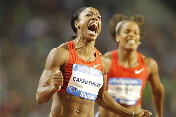 Danielle Carruthers wins in Brussels (Gladys Chai van der Laage)