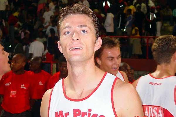 Alwyn Myburgh in Stellenbosch (Mark Ouma)