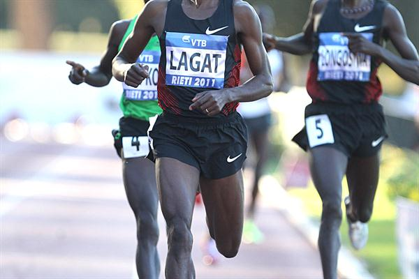 Bernard Lagat takes 3000m win in Rieti (Giancarlo Colombo)