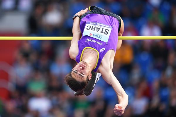 Brandon Starc at the 2018 IAAF Continental Cup in Ostrava (Getty Images)
