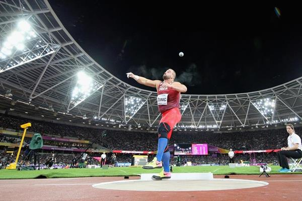 Stipe Zunic in action at the IAAF World Championships London 2017 (Getty Images)