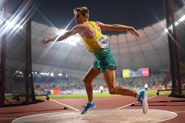 Australian decathlete Cedric Dubler (Getty Images)