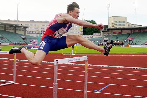 Norwegian 400m hurdler Karsten Warholm (AFP / Getty Images)
