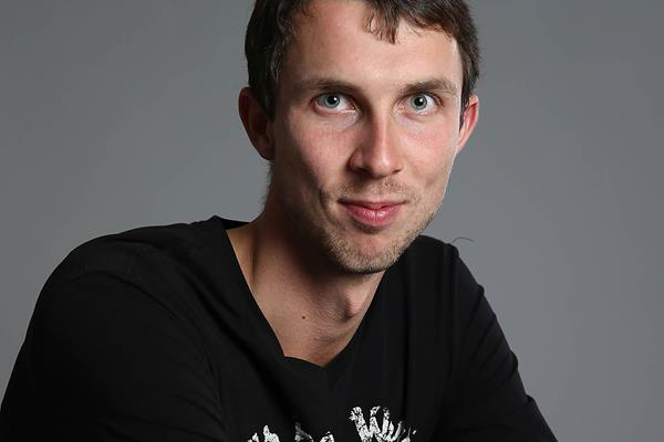 Bogdan Bondarenko ahead of the 2014 World Athletics Gala in Monaco (Giancarlo Colombo)