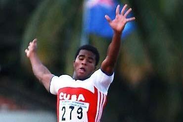 Wilfredo Martínez jumps 8.31m in Cali (Fernando Neris)