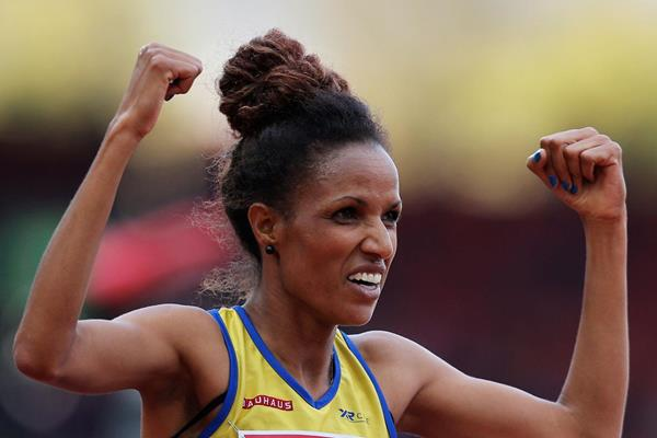 Swedish distance runner Meraf Bahta (Getty Images)