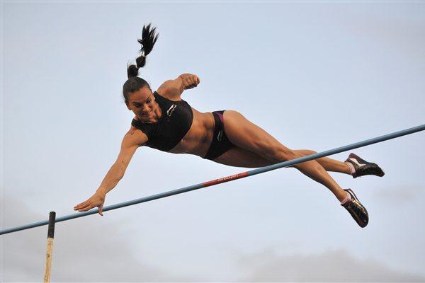 Yelena Isinbayeva is back - Stockholm DN Galan (Hasse Sjogren / DECA Text&Bild)