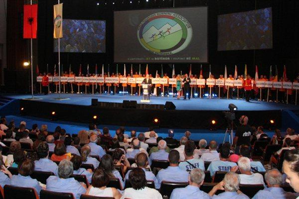 Opening Ceremony - 27th World Mountain Running Championhips (WMRA)