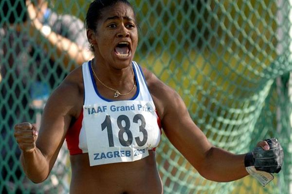 Yipsi Moreno unleashes an area record of 76.62m in Zagreb (Organisers)