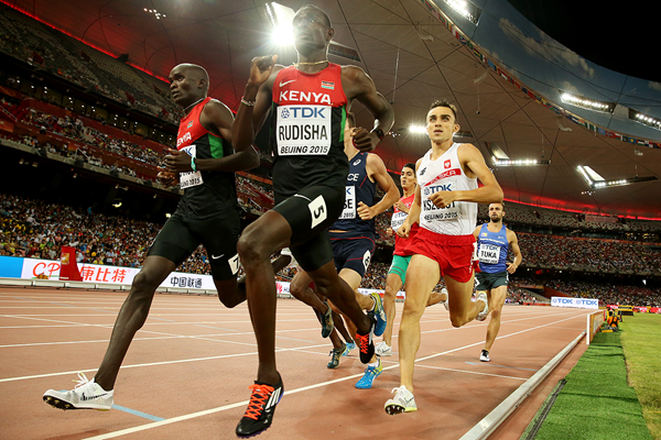 David Rudisha in the 800m at the IAAF World Championships Beijing 2015 (Getty Images)