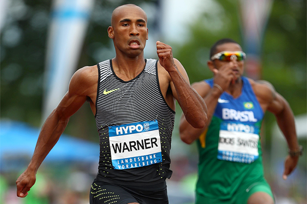 Damian Warner at the Hypo Meeting in Gotzis (Getty Images)