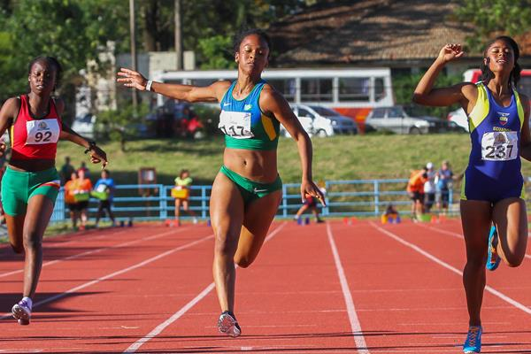 Lorraine Martins of Brazil at the 2016 South American Youth Championships (Oscar Muñoz Badilla)
