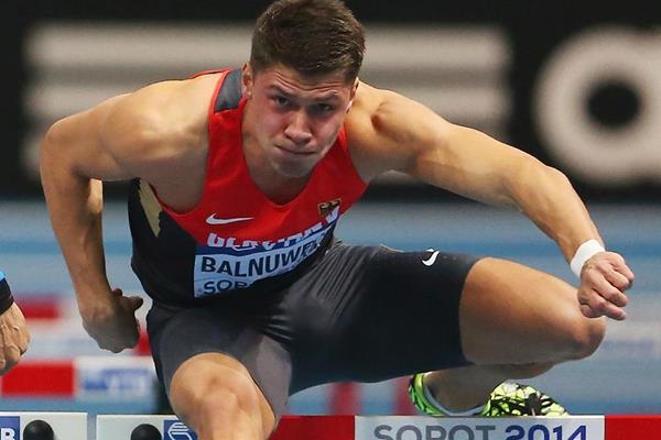 German sprint hurdler Erik Balnuweit (Getty Images)