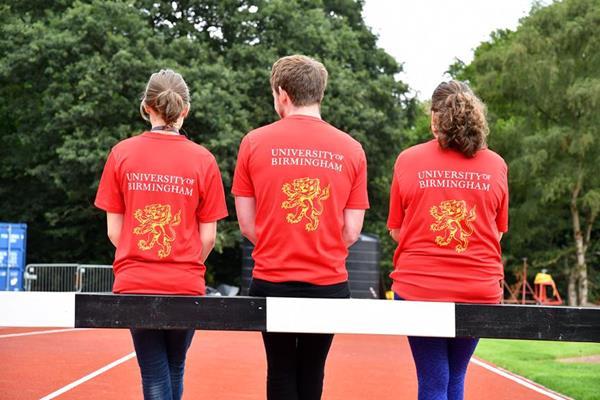 Volunteers from the University of Birmingham (LOC)
