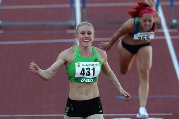 Sally Pearson took both the 200m and 100m Hurdles titles on the final day of the Australian championships (Getty Images)