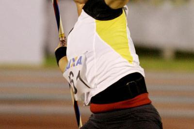 Kim Kreiner unleashes her 64.19m Area Javelin record in Fortaleza (Wander Roberto de Oliveira/CBAt)