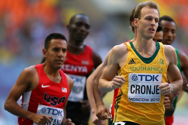 Johan Cronje  South Africa Moscow 2013 Bronze 1500 metres ()