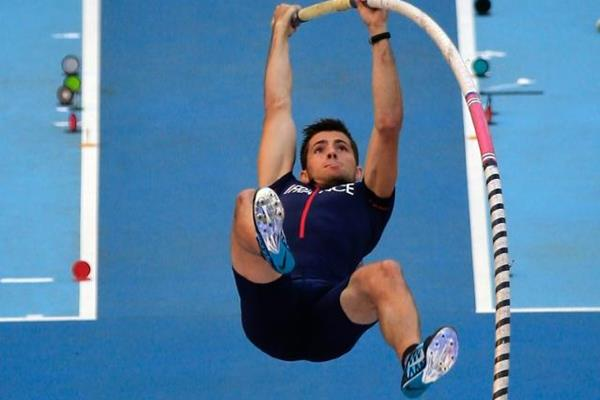 Valentin Lavillenie in the men's Pole Vault at the IAAF World Athletics Championships Moscow 2013 (Getty Images)