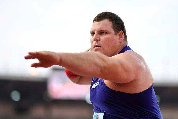 Continental Cup shot put champion Darlan Romani (Getty Images)
