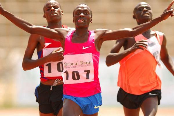17-year-old Timothy Kitum dazzles with a 1:45.8 victory at the Kenyan World Youth trials (Boniface Okendo/The Standard)