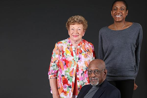 Marjorie Jackson, Marie Jose-Perec and Harrison Dillard (Giancarlo Colombo)
