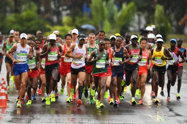The men's marathon at the Rio 2016 Olympic Games (Getty Images)
