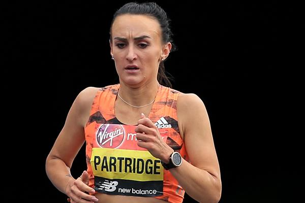 British distance runner Lily Partridge (Getty Images)
