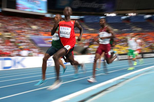 Ronald Musagala in the 800m at the 2013 IAAF World Championships (AFP / Getty Images)