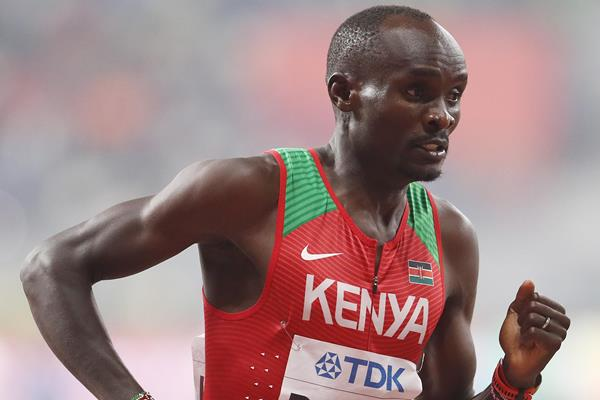 Ferguson Cheruiyot Rotich in the 800m at the IAAF World Athletics Championships Doha 2019 (Getty Images)