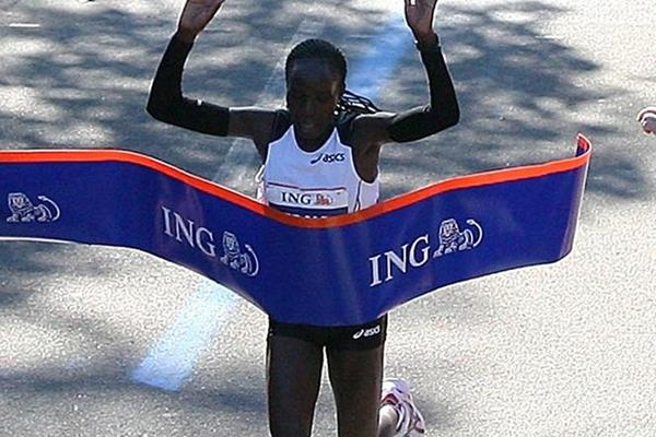 Big win for Edna Kiplagat in New York (Getty Images)