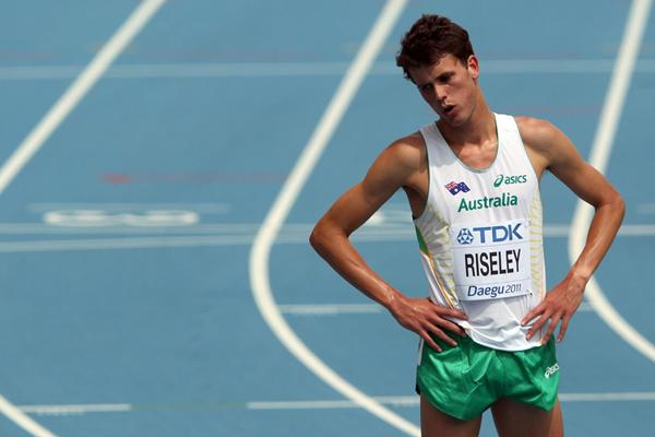 Australian 800m runner Jeff Riseley (Getty Images)