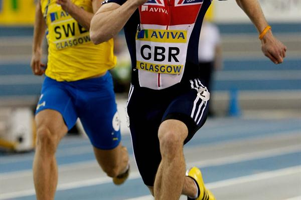 Craig Pickering takes a 6.57 victory in Glasgow (Getty Images)