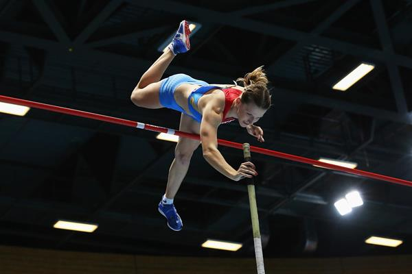 Russian pole vaulter Anzhelika Sidorova (Getty Images)