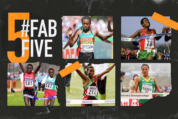 Fab five: World Cross U20 stars (Getty Images)