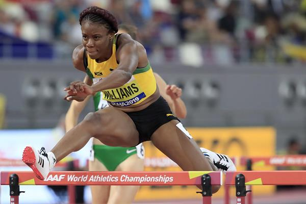 Danielle Williams at the IAAF World Athletics Championships Doha 2019 (Getty Images)