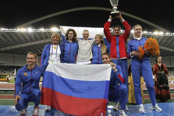 The women of Russia - 2006 World Cup Champions (Getty Images)