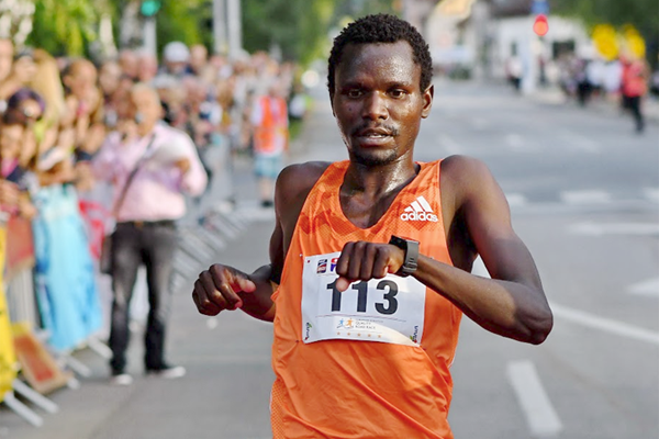 Moses Kibet wins the Vidovdan Road Race (Organisers)
