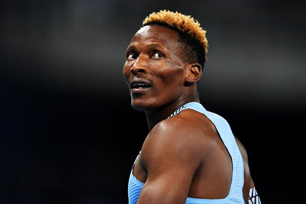 Sprinter Isaac Makwala of Botwana (Getty Images)