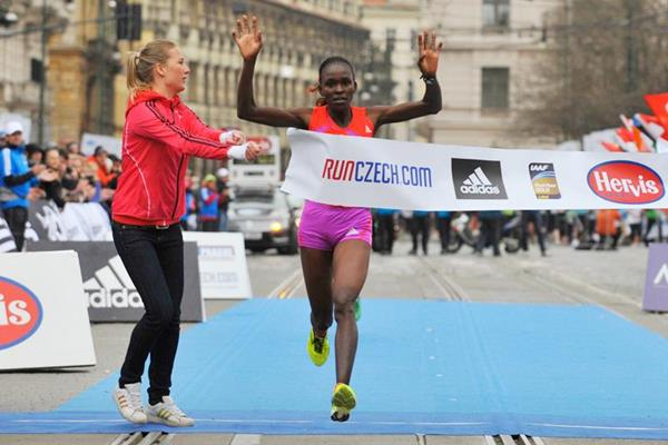Joyce Chepkirui wins the Prague Half Marathon (Sportisimo Prague Half Marathon)