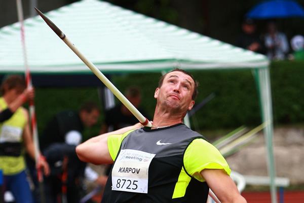 Dmitry Karpov prevails in rainy Kladno (Jan Kucharcik)