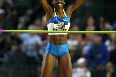 US Trials high jump winner Chaunte Howard (Getty Images)