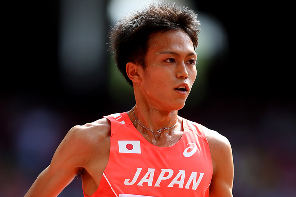 Suguru Osako in action at the IAAF World Championships (Getty Images)