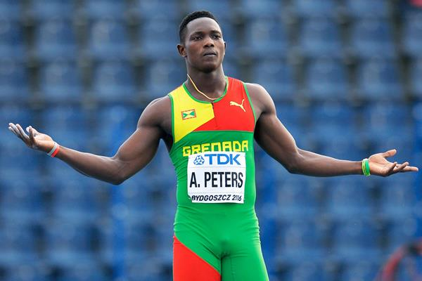 Anderson Peters at the IAAF World U20 Championships Bydgoszcz 2016 (Getty Images)